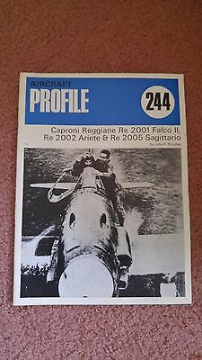 Aircraft Profile #244 Caproni Reggiane RE2001 Falco