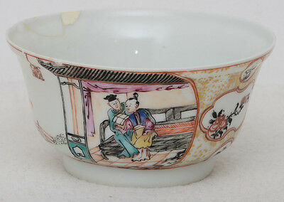 Chinese 18th century famille rose bowl