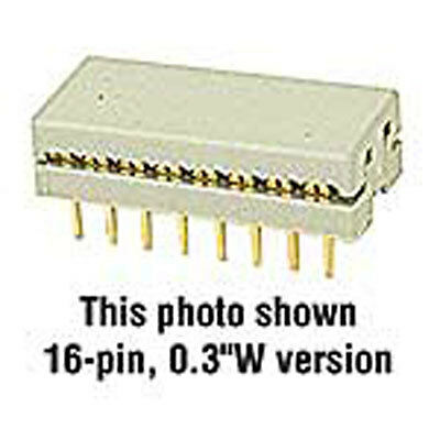 Connector IDC DIP Plug 24 Pin 0.1 Amp Use With Part 37760 10 pcs