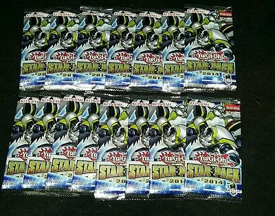 Yu-Gi-Oh- Star Pack 2014 1st Edition Booster (15 pack)