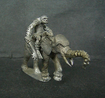ral partha dungeons & dragons Giant war elephant miniature 01-099 Very rare