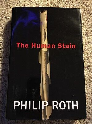 THE HUMAN STAIN - Philip Roth: HardCover, Dust Jacket: GOOD  (please read on)