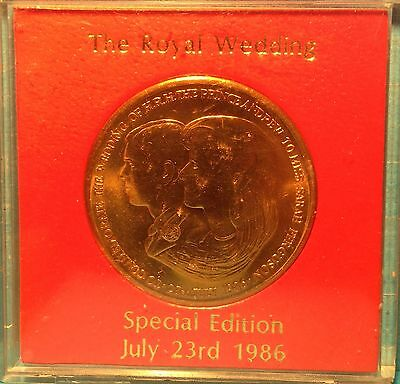 Special Edition Rare Coin - The Royal Wedding July 23rd 1986 Andrew And Sarah