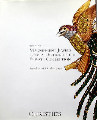 Christie's Magnificent Jewels from a Distinguished Private Collection 10/16/07