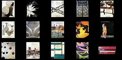 14 Christie's & Sotheby's  Mid Century Modern 20Th Decorative Arts Auctions 11-8