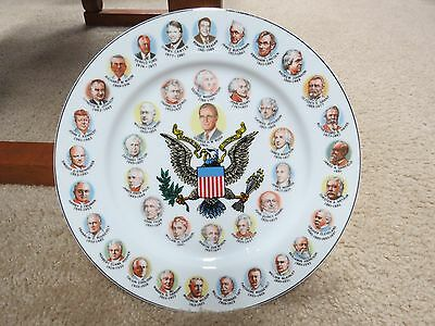 Made in Japan- Plate of Presidents 1989-  (lot 460)