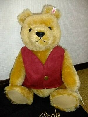 Used! Excellent! Steiff Winnie the Pooh Limited 55cm/21.6inch 2004