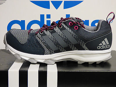 NEW AUTHENTIC ADIDAS Galaxy Trail Women's Running Shoes - Grey/Pink;  BA8645