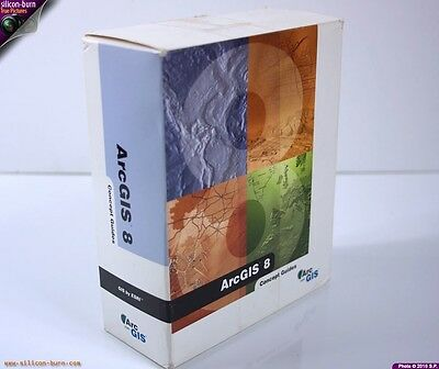 ArcGIS ESRI GEOGRAPHIC INFORMATION SYSTEM (GIS) FOR WINDOWS WORLD MAPS on 5 CDs