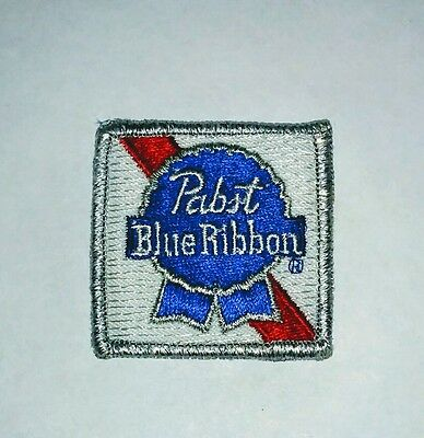 Vintage Pabst Blue Ribbon PBR Embroidered Patch - Never Used