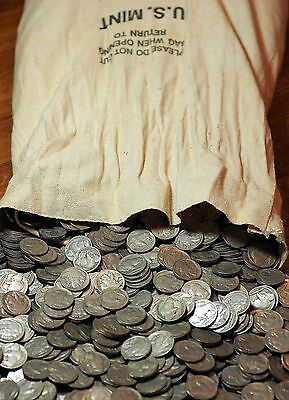 Buffalo Nickels - Full Dates - Nice Condition - Lots Of Five (5) !