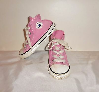 Converse Chuck Taylor All Star Casual Shoes Pink Girls Toddler 7J234 Size: 10
