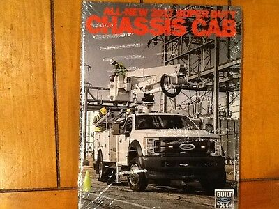 2017 Ford Super Duty Chassis cab brochure new