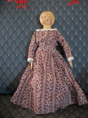 Antique Springfield Wood Doll 1873-1874 -Excellent