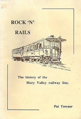 Mary Valley Railway Line History GYMPIE QUEENSLAND Rock 'n' rails Scarce BOOK