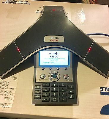 Polycom Cisco Cp-7937G Ip Conference Station 2201-40100-001 Phone