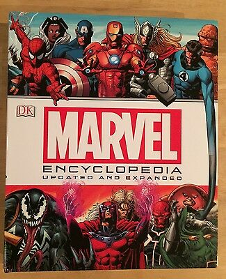 Marvel Encyclopedia hardcover book by DK Publishing 2015 updated edition