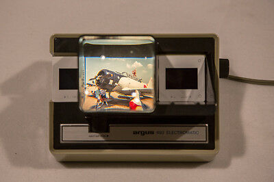 Argus 693 Electromatic Automatic Slide Viewer - Works Great