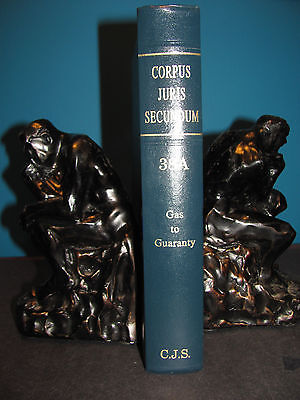 1996 Corpus Juris Secundum Law Book # 38A Gas to Guaranty