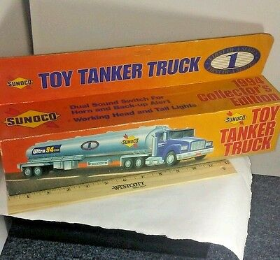 Sunoco 1994 Tanker Truck Toy Ultra 94 Octane NIB 1st Of A Series New