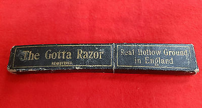 Vintage Straight Razor By Real Hollow Ground England