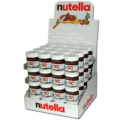 Cute Mini Nutella Jars 128 Pack 2 Boxes. Best Before 11/04/2018 Long Date