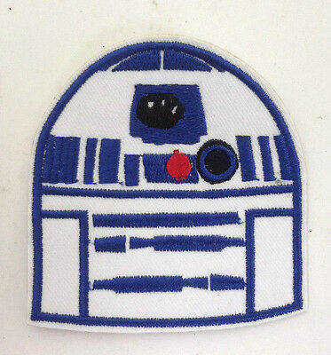 "Star Wars R2-D2 Robot 2.75"" Embroidered Patch-FREE S&H (SWPA-FC-37)"