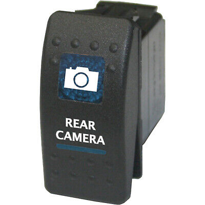 Rocker switch 584B 12V REAR CAMERA Carling ARB NARVA type led blue