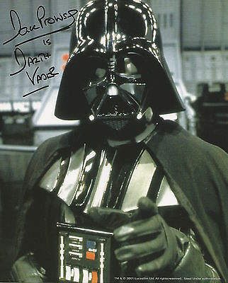 David Prowse hand signed 8x10 photo, with COA