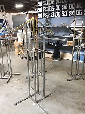 Clothes Rack For Retail Store.  4 Arms Display.