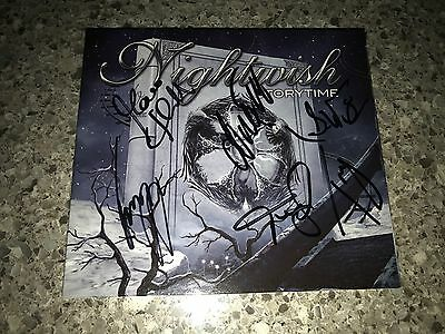 Nightwish Storytime Single SIGNED by Anette, Tuomas, Marco, Jukka, Emppu & Troy
