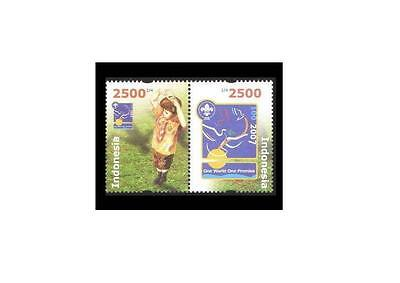 Indonesia 2007 Scout Movement Centenary MNH