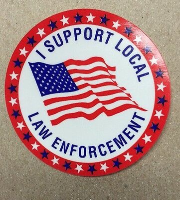 Fraternal order Police Booster Supporter Decal Sticker FOP 2016 Law Enforcement