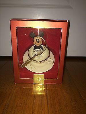 Authentic Lenox Mickey Mouse Tea Cup Ornament
