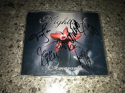 Nightwish Amaranth Single SIGNED by Anette, Troy, & Entire Band