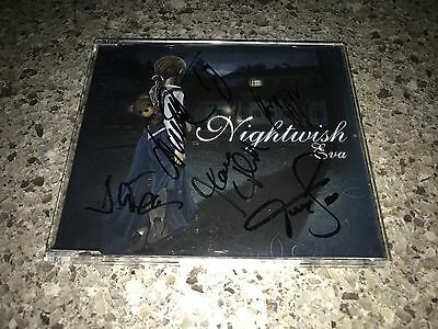 Nightwish Eva Promo Single SIGNED by Anette, Troy, & Entire Band