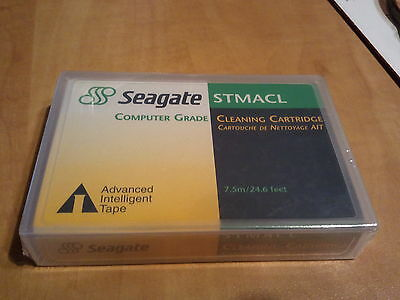 NEW Sealed Seagate AIT Cleaning Tape Cartridge STMACL 8mm 10004146-001