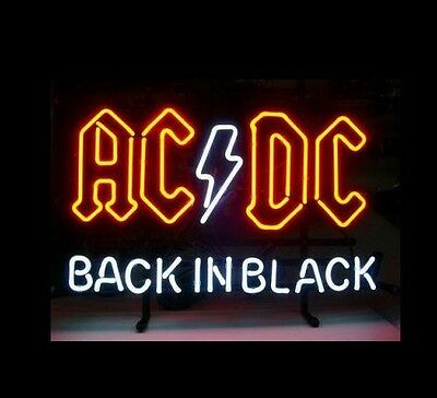 ACDC NEON Sign -  Bar sign Man cave sign