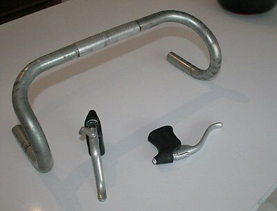 Dia-Compe brake levers and 25.8mm Hsin Lung handlebars