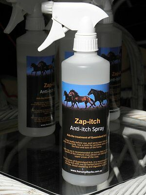 Horsetail Herbs Zap-itch anti-itch spray for horses  (500ml)