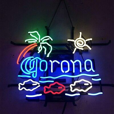 Corona Beer NEON Sign, For Man Cave, Pub sign