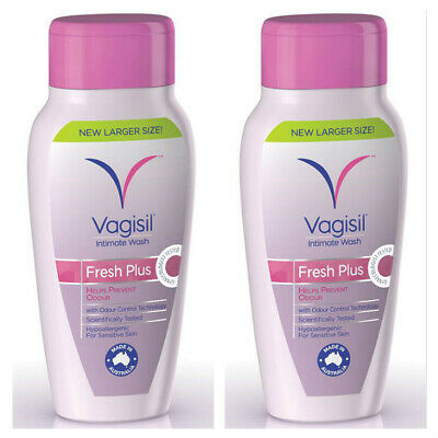 Vagisil Fresh Plus Intimate Wash 240ml X2 Two Buy Deal