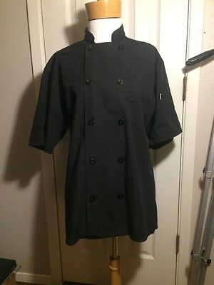 Mellow Mushroom Double Breasted Chef Coat Small