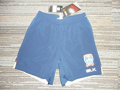 Newcastle United Jets  A-League Players Soccer Training Shorts 2016 Mens S