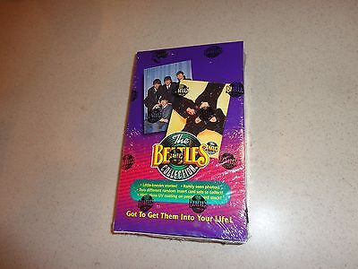 The Beatles Collection Unopened Box 36 Packs Trading Cards Factory Sealed 1993