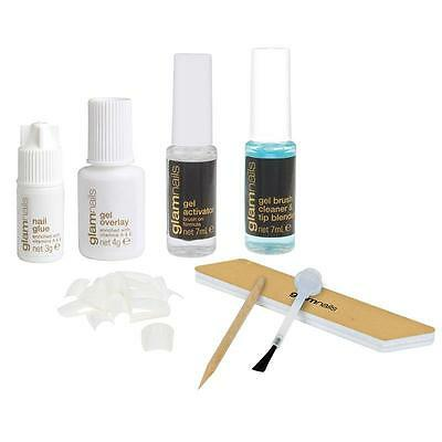 Manicare Glam Gel Nail System Kit Nails Kit