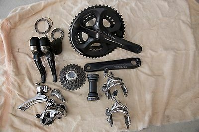 Ultegra 10 Speed Group Set (Compact Cranks)