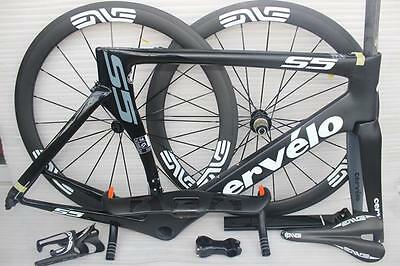 Carbon Custom made Road Cycling Frame set and Wheel Set