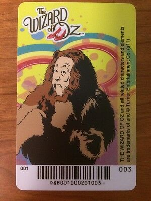 Cowardly Lion Elaut Card Wizard of Oz D&B Dave & Busters