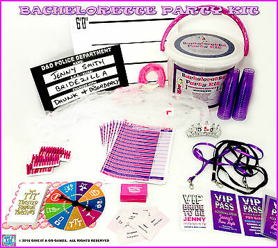 Bachelorette Party Kit.  Hen's Night Party Kit.  Contains 4 fun games